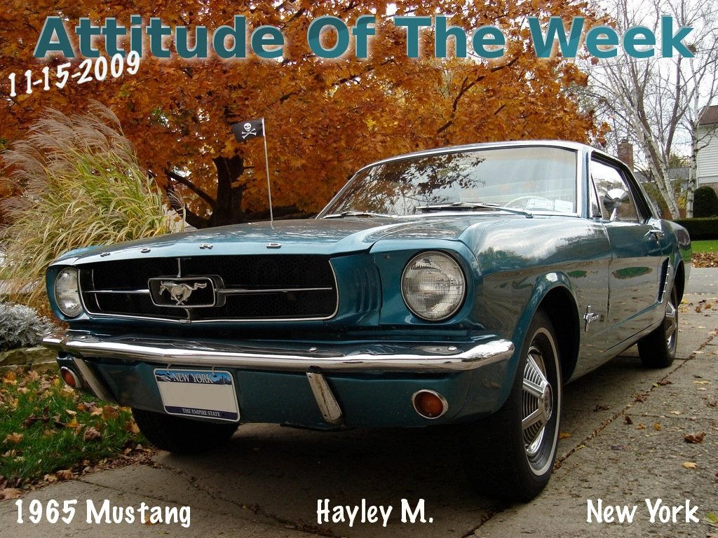 1965 Mustang Paint Colors
