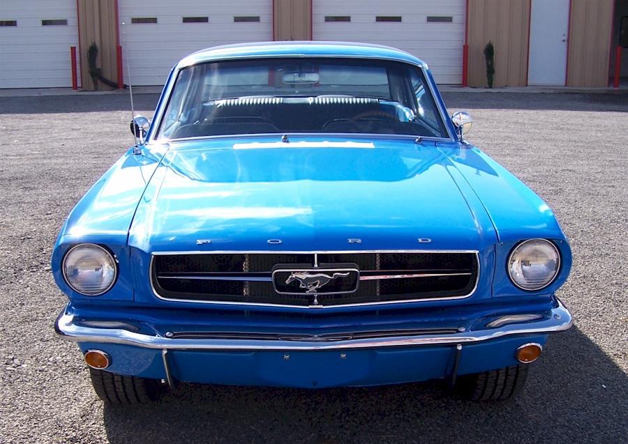 Grabber Blue 1965 Ford Mustang Hardtop Mustangattitude