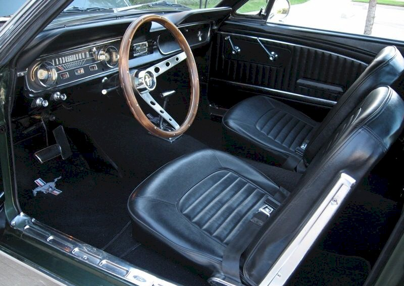 Ivy Green 1965 Ford Mustang Fastback Mustangattitude Com