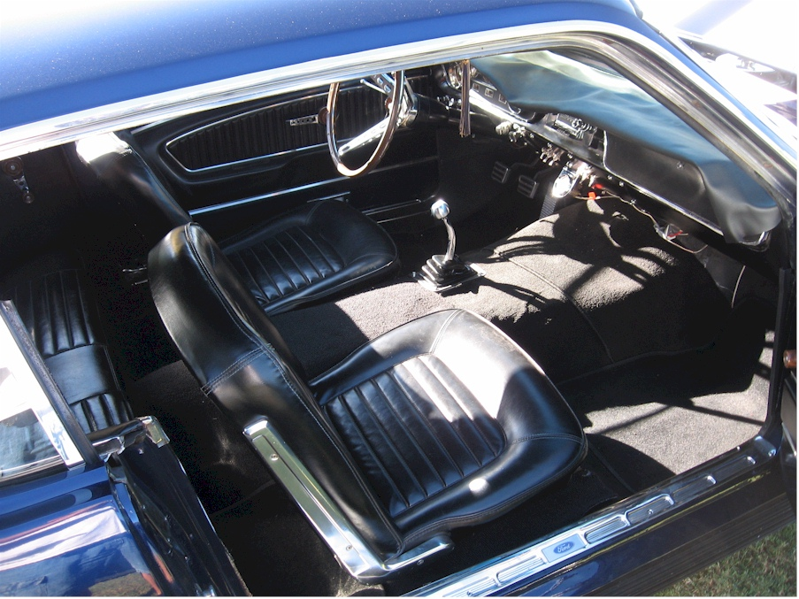 Kona Blue 1965 Ford Mustang Hardtop Mustangattitude Com Photo Detail