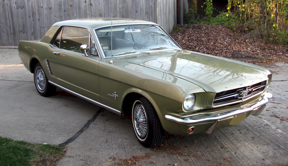 Honey Gold 1965 Ford Mustang Hardtop Mustangattitude Com