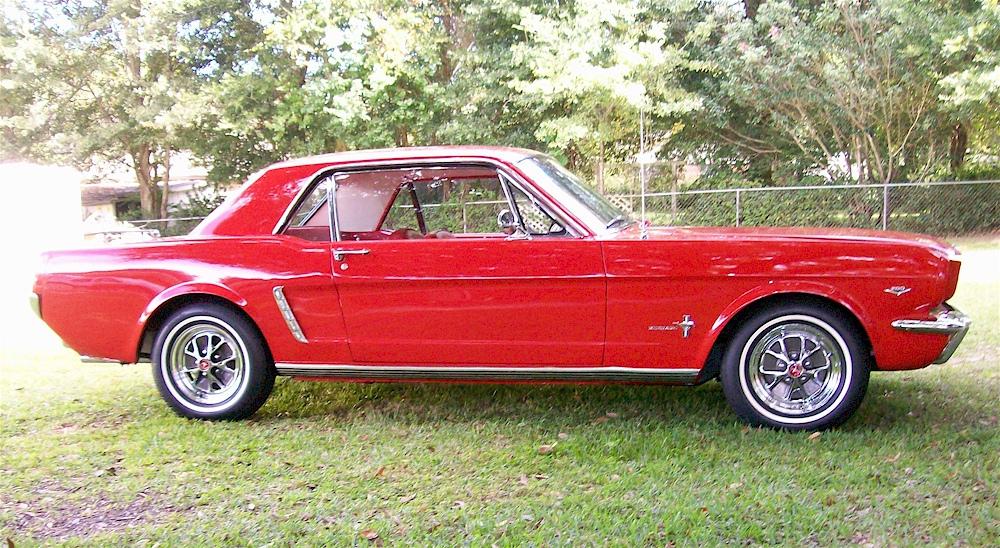 Ragoon Red 1965 Ford Mustang Hardtop Mustangattitude Com