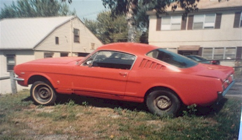 1965 Mustang with Potential