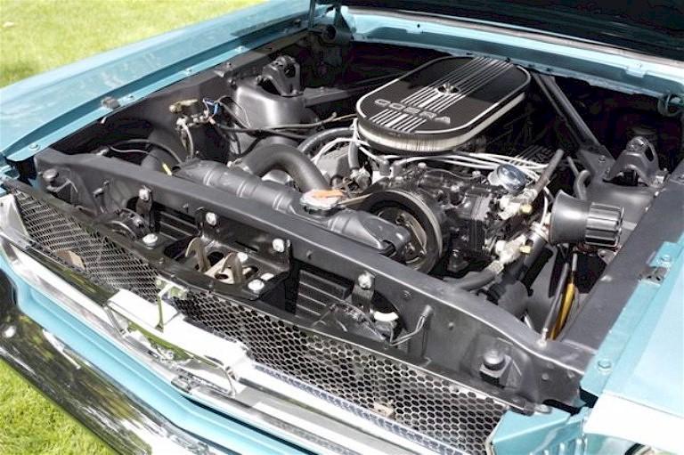 1965 mustang engine: