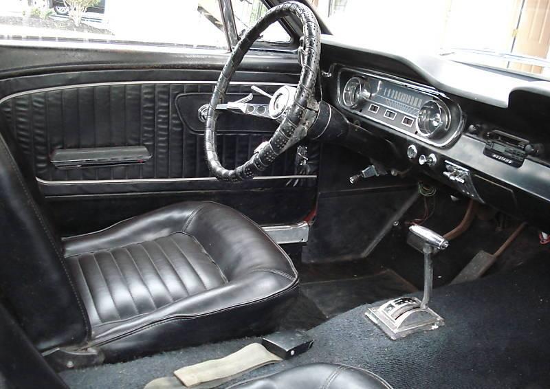 Rangoon Red 1965 Ford Mustang Hardtop Photo Detail