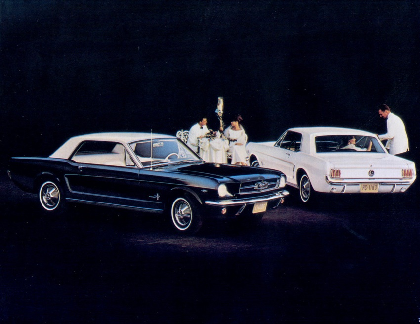 Page 8: 1965 Ford Mustang Promotional Brochure