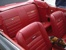 Red Pony Interior 1965 Mustang Convertible