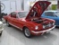 Rangoon Red 1965 Mustang GT Fastback
