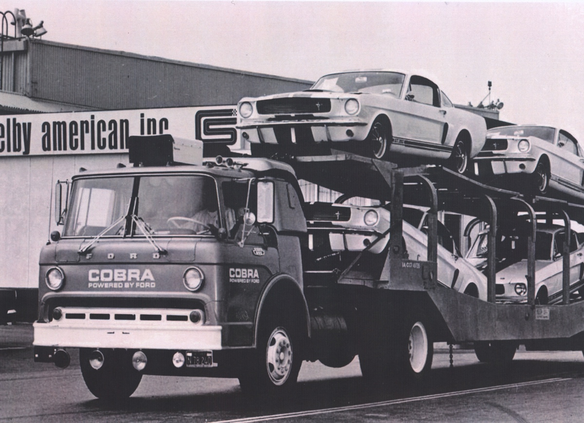 Delivery of 1965 Shelby GT350