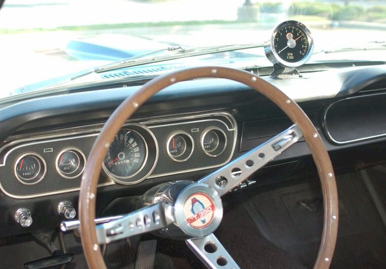 1966 Shelby GT-350 Dash