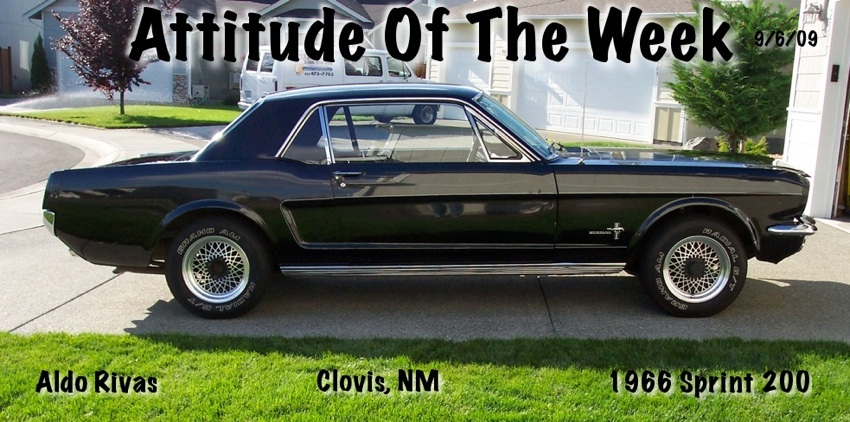 1966 Mustang Sprint