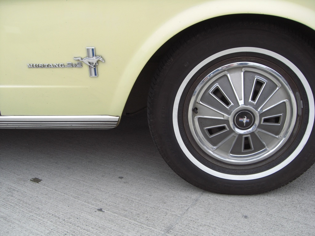 1966 Mustang Full Wheel Covers