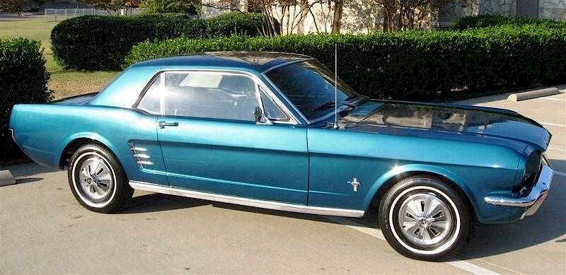 1966 Mustang Specifications Mustang Specs 1966 Ford Mustang Turquoise Blue 1966 Ford Mustang