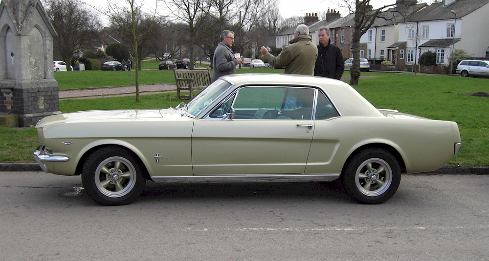 Sauterne Gold 1966 Ford Mustang Hardtop Mustangattitude