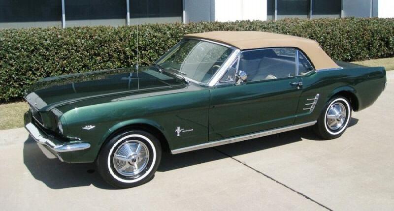 Ivy green 1966 ford mustang convertible mustangattitude ivy green 1966 mustang convertible publicscrutiny Choice Image