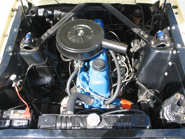 on 1965 Ford Mustang 6 Cylinder Engine