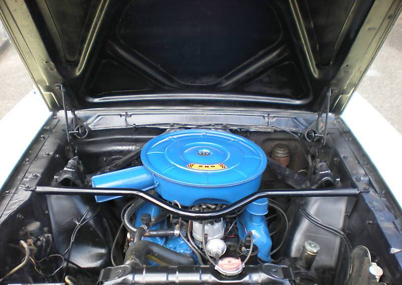 1966 Mustang C-code 289ci V8 Engine