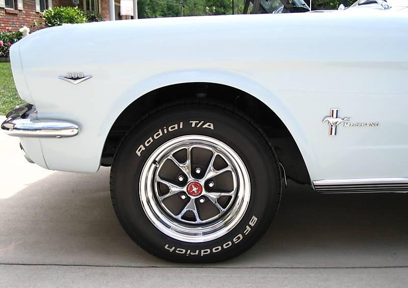 Arcadian Blue 1966 Ford Mustang Hardtop Mustangattitude