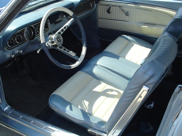 Peachy Silver Blue 1966 Ford Mustang Hardtop Mustangattitude Com Ibusinesslaw Wood Chair Design Ideas Ibusinesslaworg