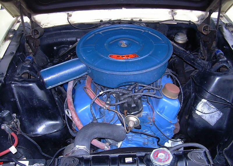 Correct 289 Engine Detail For 1966 Mustang Gt
