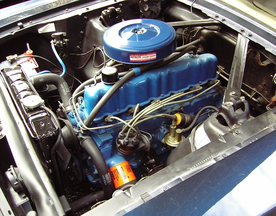 1966 Ford Mustang T-code 200ci 6-cylinder engine