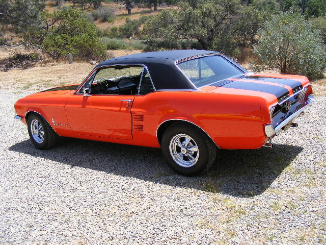 Aspen Red 1967 Mustang Ski Country Special