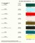 Dupont Color Chart for 1967 Ford Mustang Aspen Red