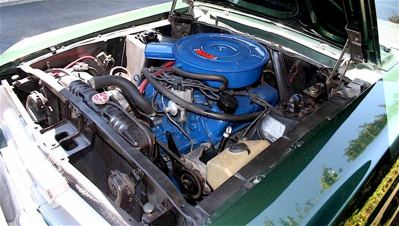 C-code 200hp, 289ci V8 engine