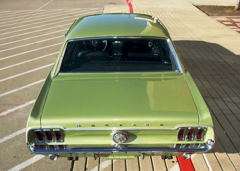 see other pictures of this car lime gold 1967 mustang - 1967 Ford Mustang Coupe Green