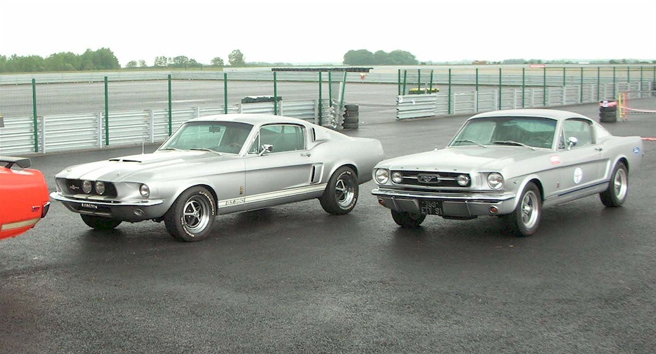 Silver Frost 1967 Ford Mustang Shelby Gt 350 Fastback