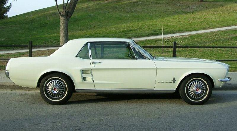 Diamond Green 1967 Mustang