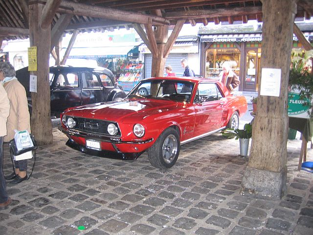 Candy Apple Red 1967 Mustang