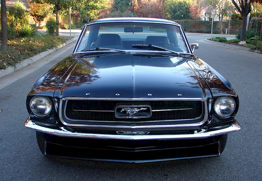 see other pictures of this car black 67 mustang