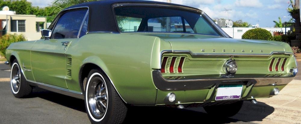 1967 Coupe Convertible Applique Rear Panel Vintage