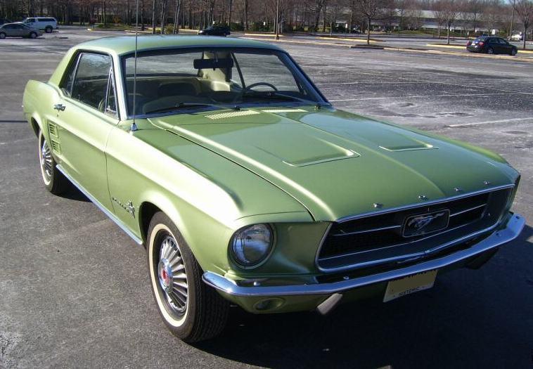 1967 Mustang Sports Sprint