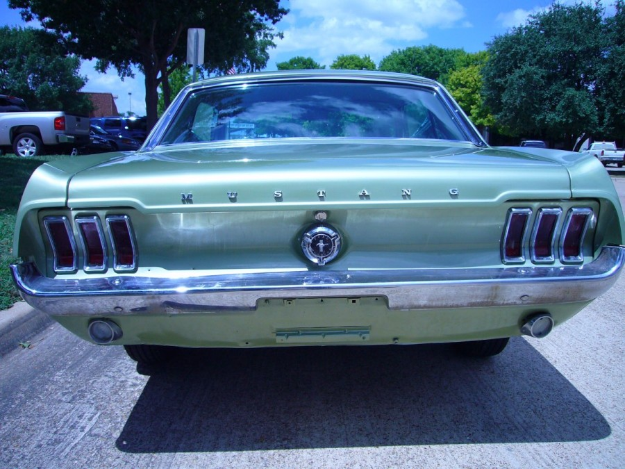 Lime Gold 1967 Mustang Sprint 200 A Hardtop