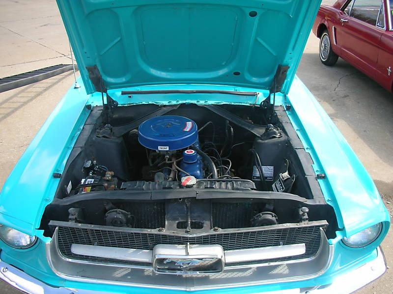 1967 Mustang T-code 200ci 6 Cylinder Engine
