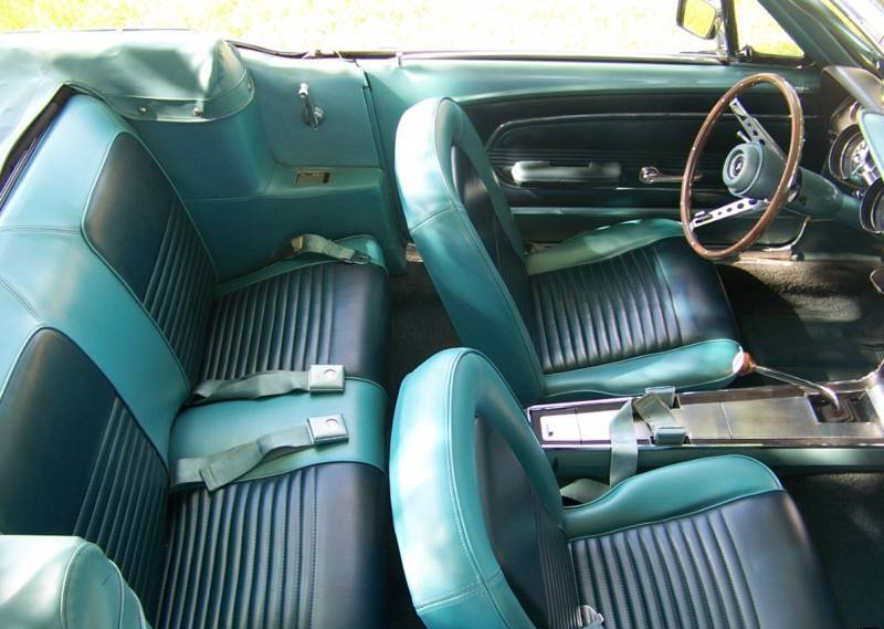 frost turquoise 1967 ford mustang gt convertible. Black Bedroom Furniture Sets. Home Design Ideas