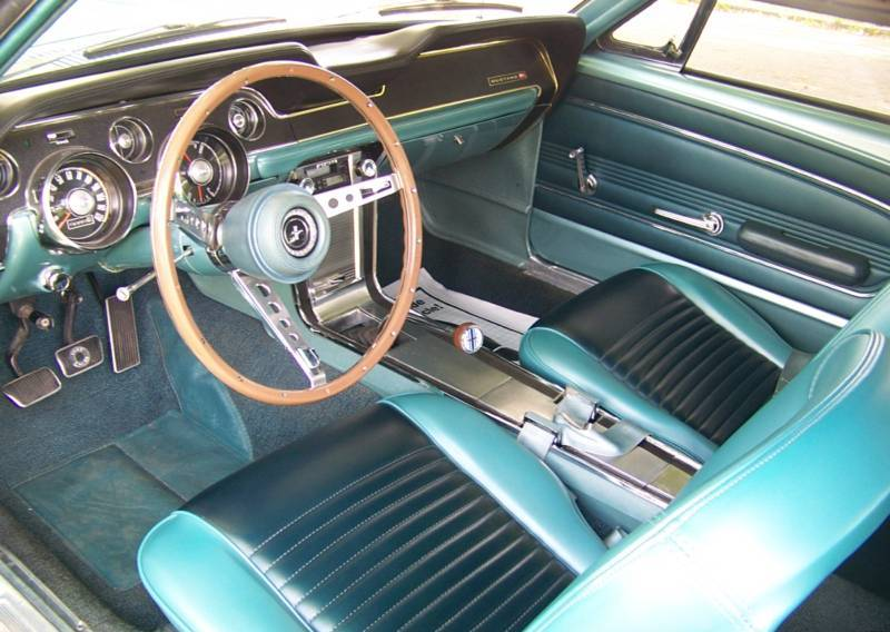 1967 Mustang Instrument Panel Pictures To Pin On Pinterest