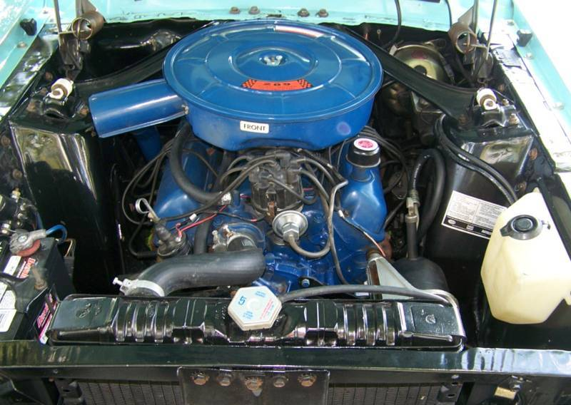 1967 ford mustang engine specifications for Ford mustang motor sizes