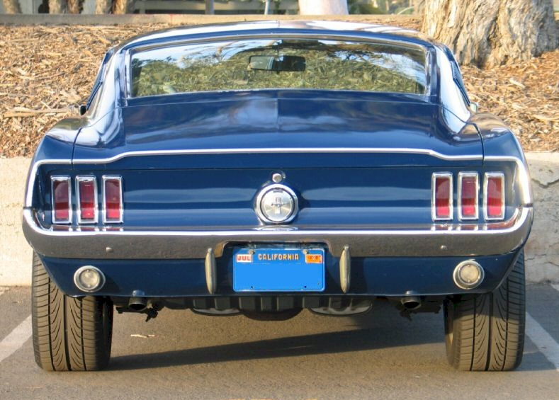 Blue 1967 Ford Mustang T 5 Fastback Mustangattitude Com