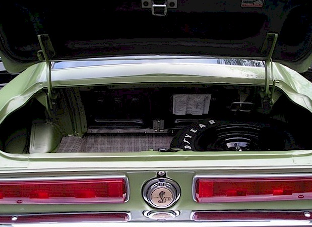 Lime Gold Green 1967 Ford Mustang Shelby Gt 350 Fastback