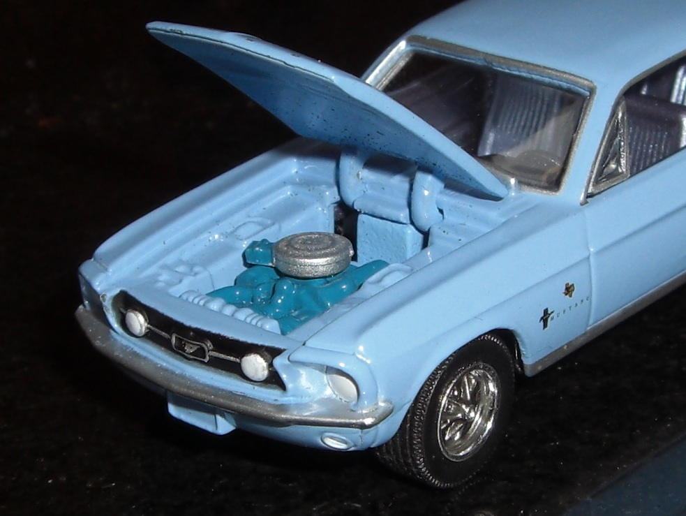 Bluebonnet 1967 Ford Mustang Lone Star Limited Hardtop