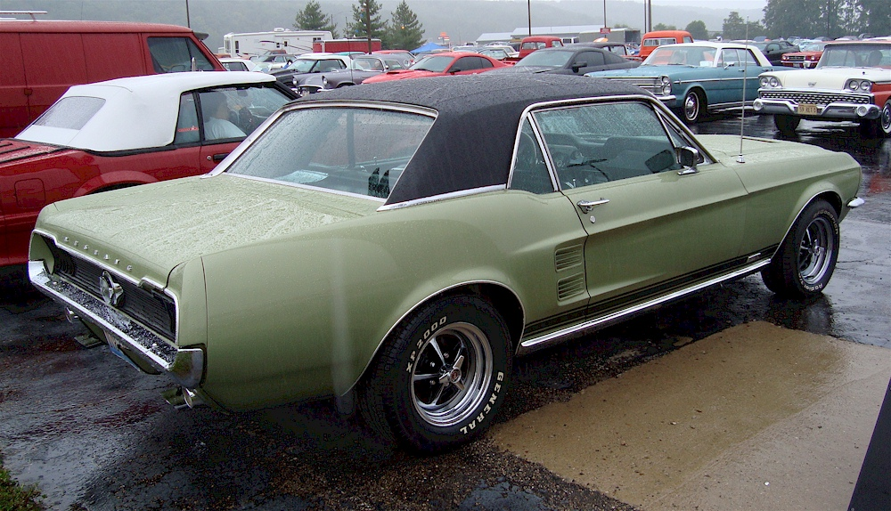Lime Gold 1967 Ford Mustang Gt Gt Hardtop