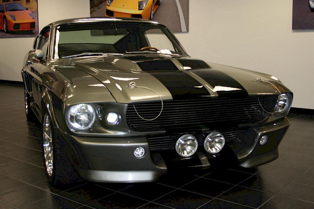 Pepper gray 1967 ford mustang shelby gt 500 eleanor fastback 67 gt500 eleanor movie car freerunsca Choice Image