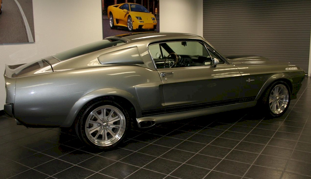 Pepper Gray 1967 Ford Mustang Shelby Gt 500 Eleanor