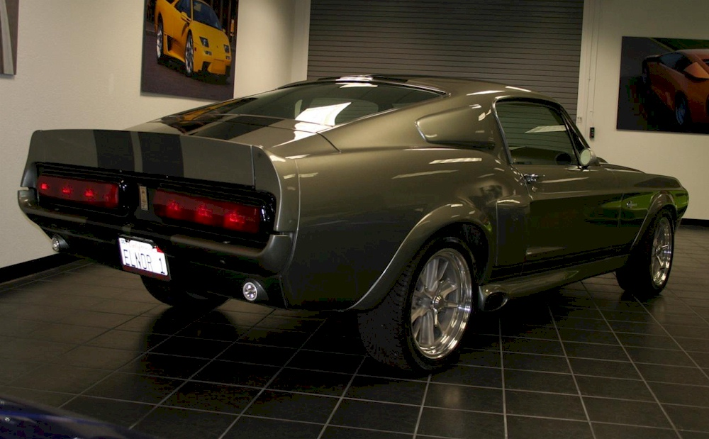 pepper gray 1967 ford mustang shelby gt 500 eleanor fastback photo detail. Black Bedroom Furniture Sets. Home Design Ideas