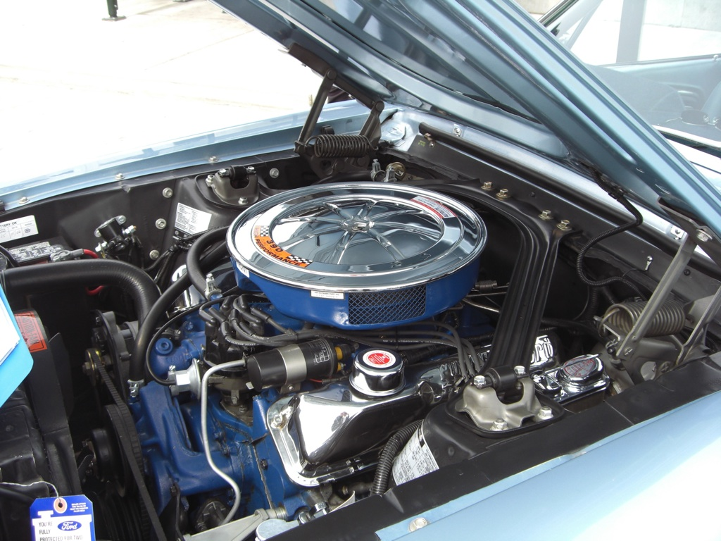 Ford Mustang 1967 S-code 390ci V8 Engine