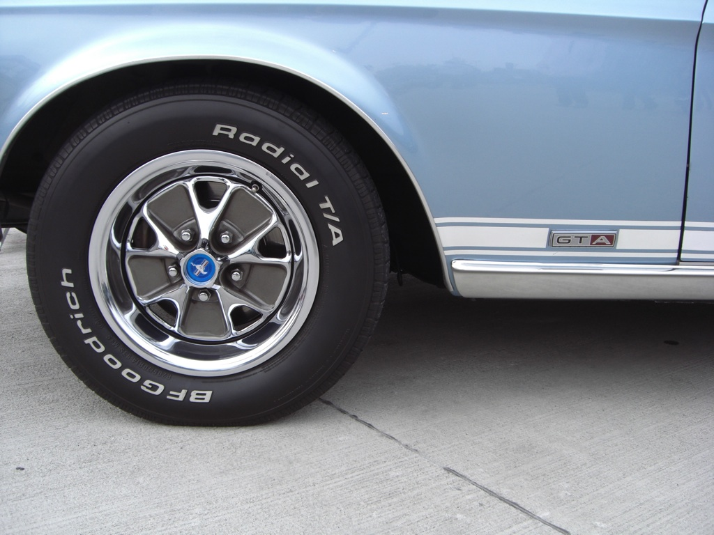 Brittany Blue 1967 Ford Mustang Gt Gt Fastback