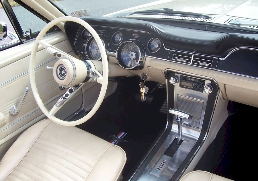 1967 mustang interior - 1967 Ford Mustang Convertible Interior
